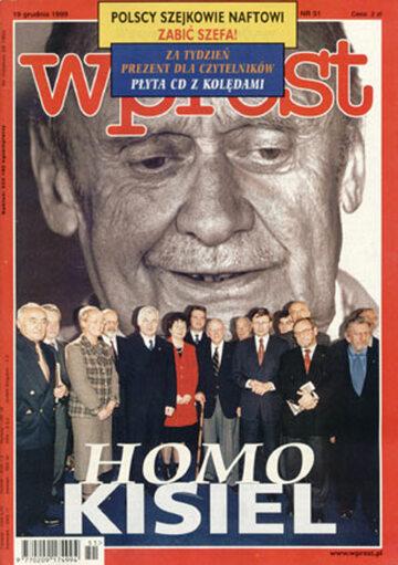Okładka tygodnika Wprost nr 51/1999 (890)