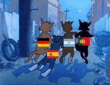 Rosjanie wysłali Hiszpanów do domu. Zobacz najlepsze memy!