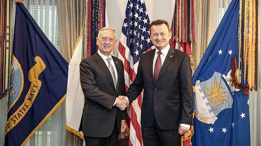Wizyta ministra Mariusza Błaszczaka w Stanach Zjednoczonych