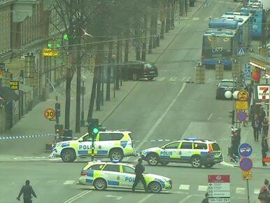Atak w Sztokholmie. Szwecja wzmacnia kontrole na granicach
