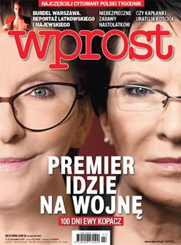 Okładka tygodnika Wprost nr 2/2015 (1661)