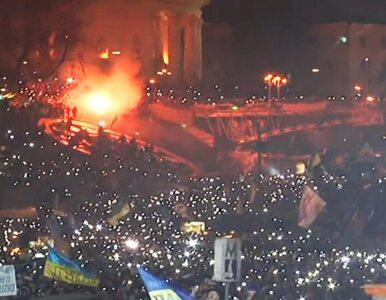 Majdan: Niezwykły protest w sylwestrową noc