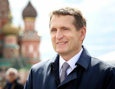 Szef rosyjskiego wywiadu: Polska stała się milczącym wspólnikiem...
