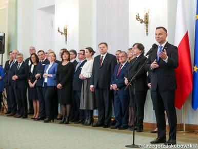 """Andrzej Duda powołał nowych sędziów. Mówił o """"ogromnej odpowiedzialności"""""""