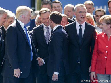 Pierwsze spotkanie Dudy z Trumpem. Rozmowa trwała kilka minut