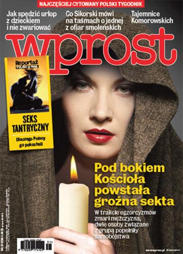 Okładka tygodnika Wprost nr 31/2014 (1639)