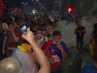 Liczba 450 rannych nie odstraszyła demonstrantów. Rumuni protestowali...