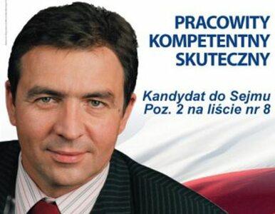 Wojciech Picheta o mały włos nie został posłem