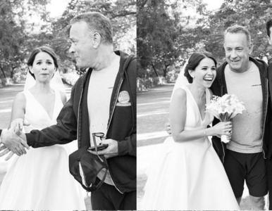 Niezwykła sesja ślubna nowożeńców. Tego się nie spodziewali
