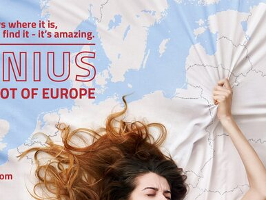 Wilno jako punkt G Europy. Kontrowersyjna kampania Litwinów