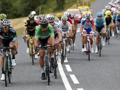 Incydent podczas Tour de France. Kolarze potraktowani gazem pieprzowym