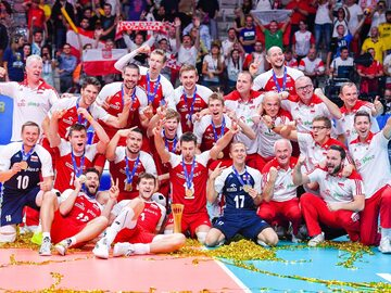 Polacy mistrzami świata 2018! Tak siatkarze cieszyli się ze zwycięstwa