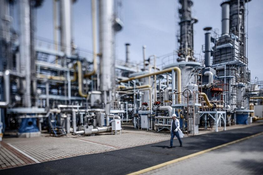 wydobycie i przesył gazu ziemnego
