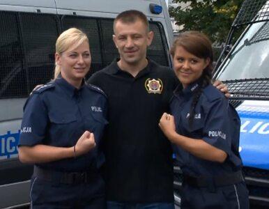 Tomasz Adamek uczył policjantów bić