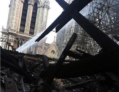 Jak wygląda wnętrze katedry Notre Dame po pożarze? Pojawiło się nagranie...