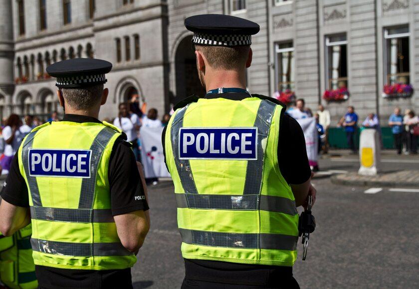 Angielska policja, zdjęcie ilustracyjne