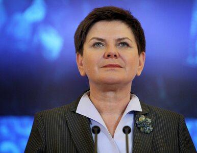 """Beata Szydło: Nie mam powodu """"uciekać do przodu"""" ani zwalniać ministrów"""