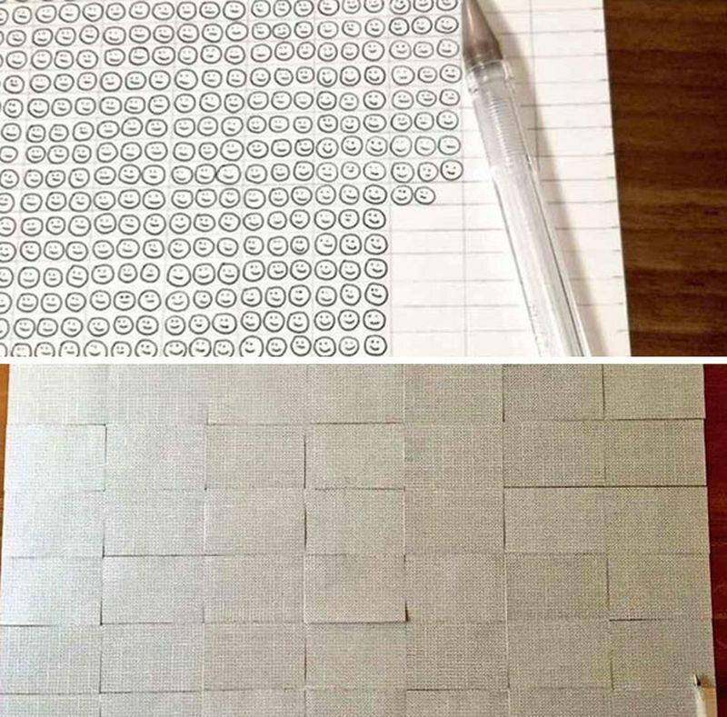 Jeden długopis kulkowy wystarczył do narysowania 29 249 uśmiechów