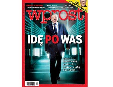 """Kamiński w starciu z sitwą, mafią i korupcją. Co w nowym """"Wprost""""?"""