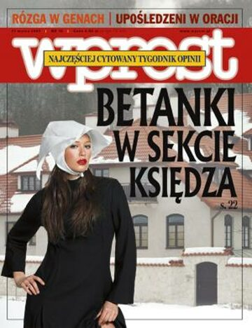 Okładka tygodnika Wprost nr 10/2007 (1263)