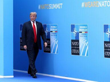 Donald Trump chce, by kraje NATO wydawały 4 proc. na obronność