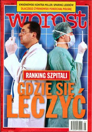 Okładka tygodnika Wprost nr 5/2002 (1001)