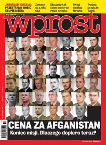 Okładka tygodnika Wprost nr 34/2013 (1591)