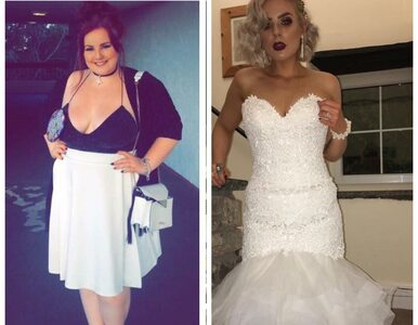 Ważyła 120 kg. Do ślubu schudła o połowę