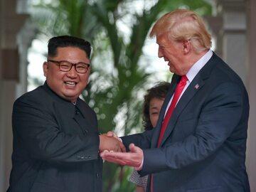 Spotkanie Trump - Kim Dzong Un  - zdjęcia
