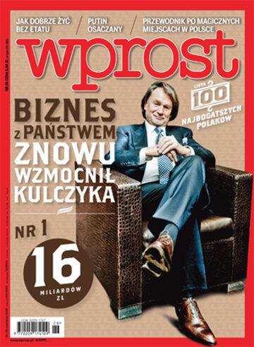 Okładka tygodnika WPROST: 26/2015