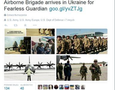 Kreml: Amerykański desant może zdestabilizować sytuację na Ukrainie