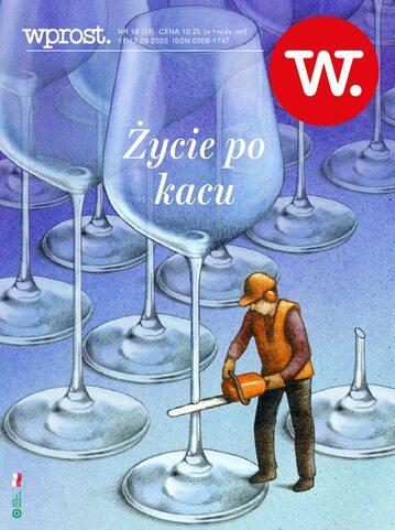 Okładka tygodnika Wprost nr 33/2020 (1949)