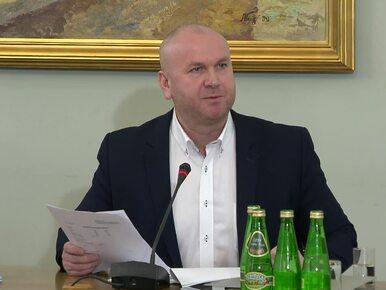 Burzliwa wymiana zdań podczas przesłuchania byłego szefa CBA przez...