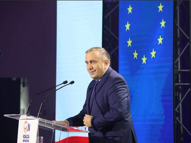 Grzegorz Schetyna podczas konwencji KO: Musimy zatrzymać tych szkodników