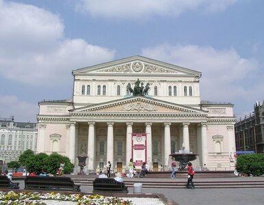 Dyrektor Teatru Bolszoj oblany kwasem. Stracił wzrok