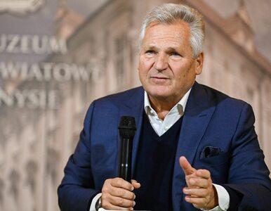 """Kwaśniewski ocenił szanse kandydatów w II turze wyborów. """"Taka jest Polska"""""""
