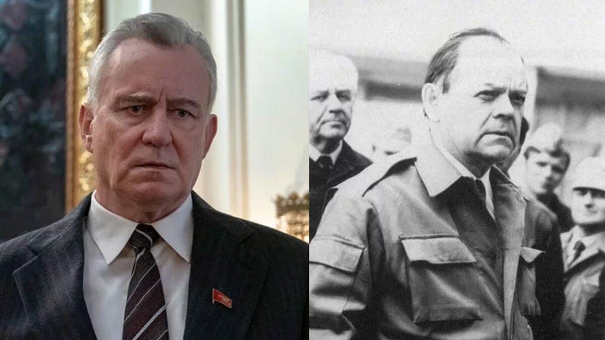 Stellan Skarsgard jako Boris Szczerbina, zastępca przewodniczącego Rady Ministrów ZSRR