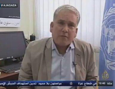 Wysłannik ONZ do Gazy płacze podczas wywiadu