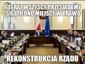 Memy po rekonstrukcji rządu. Tak internauci zareagowali na zmianę premiera