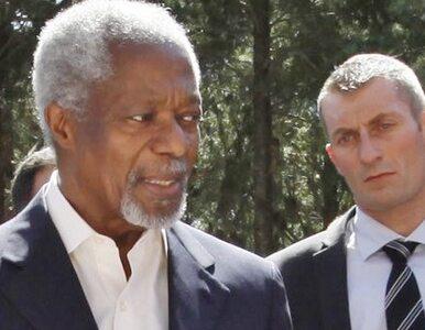 Annan: syryjskie władze nie chcą pokoju