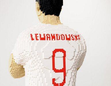 Robert Lewandowski z klocków Lego. Wyjątkowa wystawa na Stadionie Narodowym