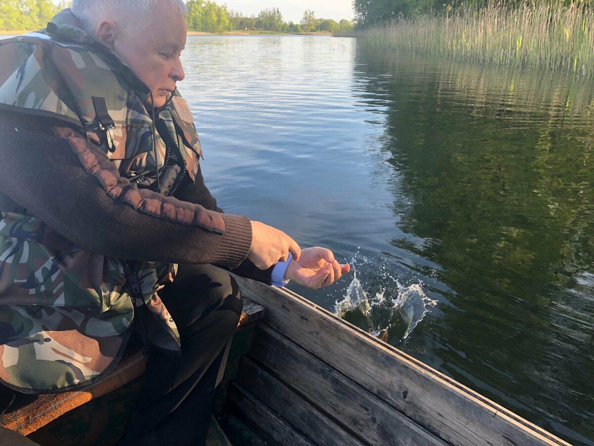 Wyprawa na ryby  polityków PiS