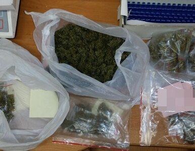 18-latek z prawie 250 gramami marihuany