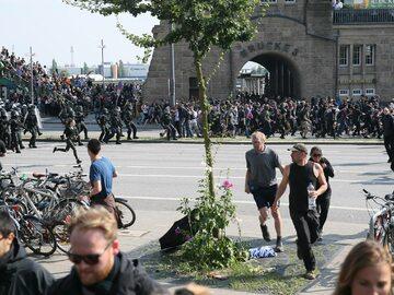 Polacy zatrzymani podczas zamieszek w Hamburgu