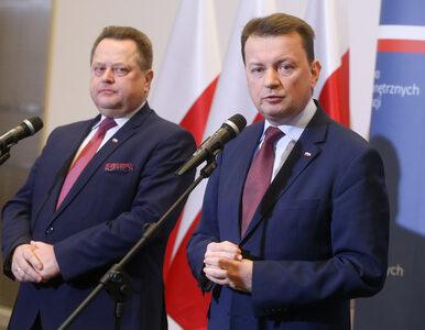 """Ciąg dalszy """"zjawiska konfetti"""" w polskiej policji. Szefowie MSWiA..."""