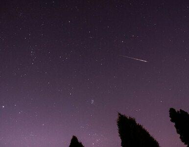 """Perseidy. Do kiedy będzie widać """"spadające gwiazdy""""?"""