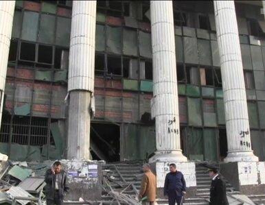 Eksplozja przed budynkiem sądu tuż przed referendum