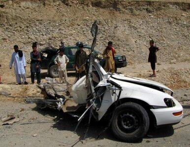 Afganistan: motocykl-pułapka na zatłoczonym bazarze. 10 osób nie żyje