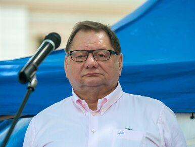 Ryszard Kalisz trafił do szpitala