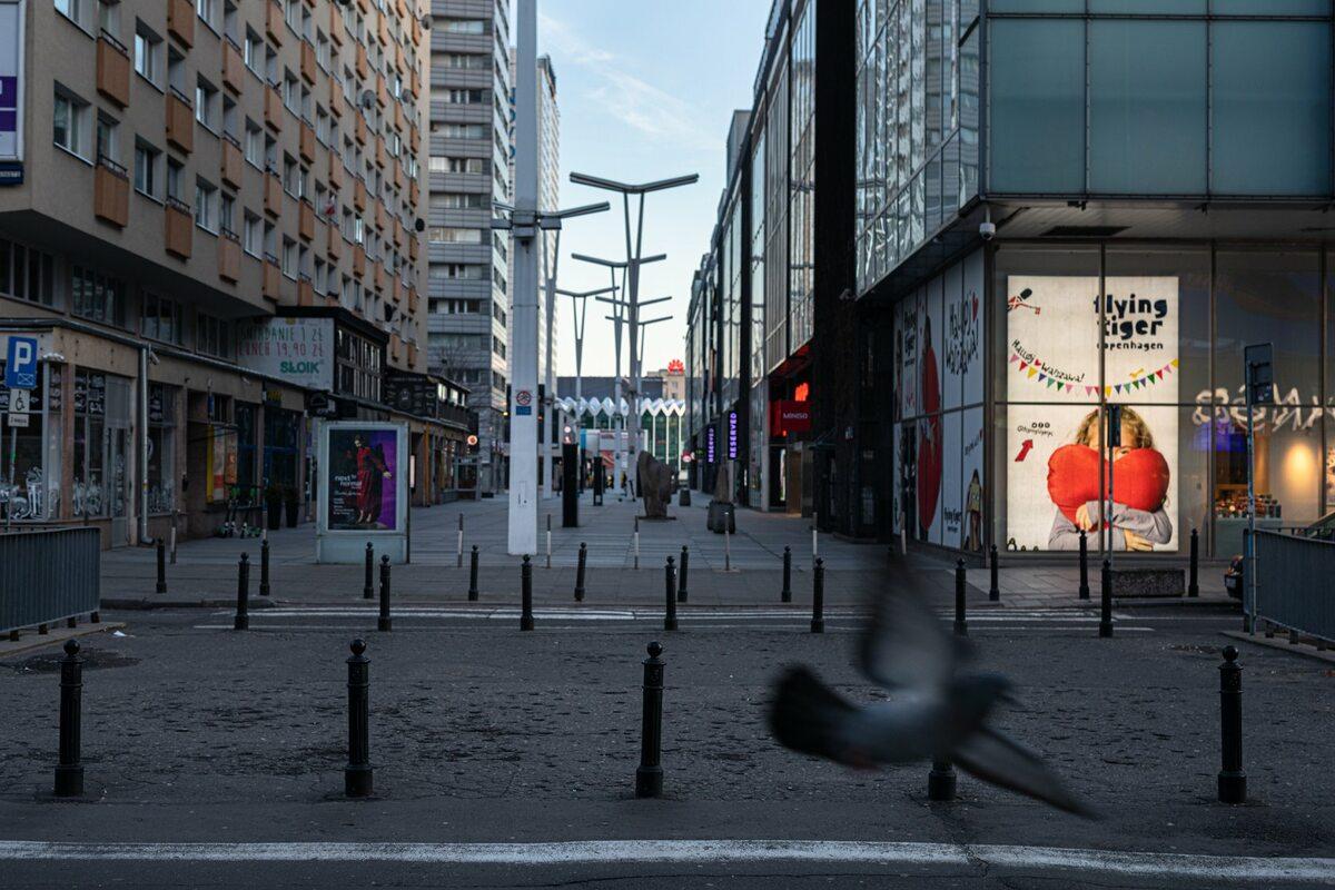 Warszawa w czasie epidemii koronawirusa